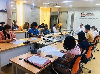 ประชุมหัวหน้าสาขา และตัวแทนสโมสรนักศึกษา เรื่องมาตรการและการเฝ้าระวังการบาดเจ็บของโรคไวรัสโคโรนาสายพันธ์ใหม่ 2019 (COVID-19)